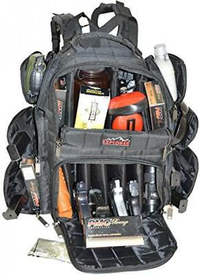 EXPLORER Backpack + Range Bag with Large Padded Deluxe Tactical Divider and 9 C