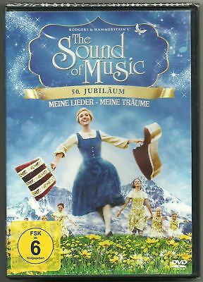 THE SOUND OF MUSIC – Meine Lieder - Meine Träume – 💿 DVD, NEU + OVP 💿 – 🎄 🎅