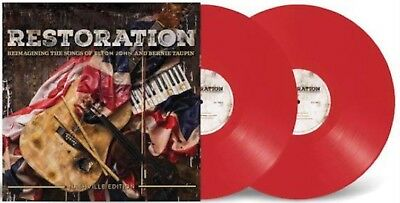 Elton John - Restoration - SEALED Limited Edition Red Vinyl Only 500 Copies Made
