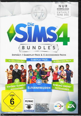 Die Sims 4 - Bundle Pack 5 (Code in a Box) - PC - Deutsche Version  - Neu & OVP