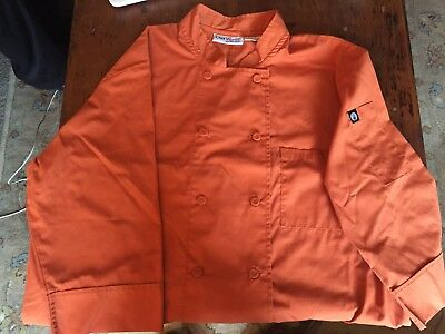 Chef Wear Men's *large* Chef coat/jacket * 100% Cotton * Very Nice