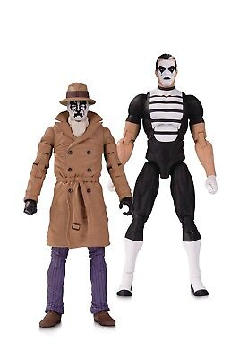 Doomsday Clock Rorschach Mime Action Figure 2 Pack - New/boxed