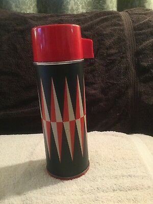 Vintage J.C. Higgins 7398 Pint Vacuum Bottle Sears-Roebuck & Co. Thermos Retro
