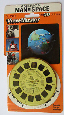 Viewmaster 2027 Americas Man in Space - USA - englisch