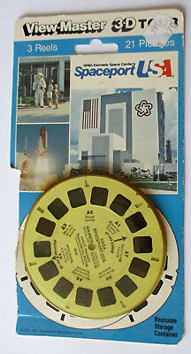Viewmaster 5358 NASA Kennedy Space Center Spaceport - USA - englisch