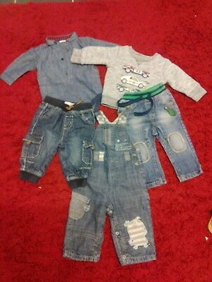 baby boys bundle of clothes jeans jumpers size 6/9months next