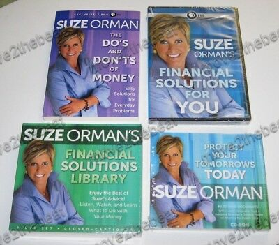 Protect Your Tomorrows Today + Financial Solutions Library~Suze Orman Power Pack