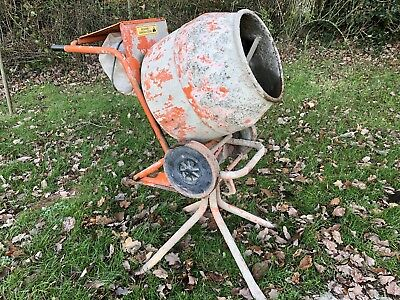 Belle Minimix 140 Cement / Concrete Mixer 240v Electric Motor with Stand