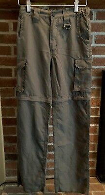 Boy Scout BSA Official OD Green Switchback Convertible Pants Size Youth Medium