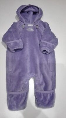the north face baby fleece bunting size 0-3M