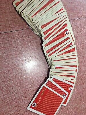 Delta Airlines . Deck of Playing Cards . Airplane Jet Plane Aviation