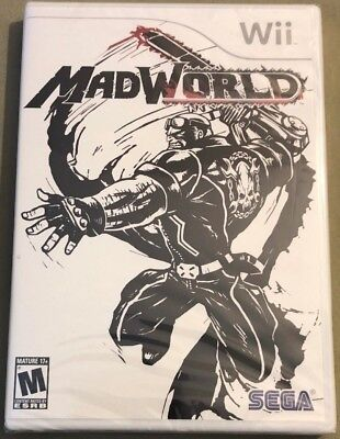 MadWorld for Nintendo Wii - Brand New & Sealed!! Free Shipping