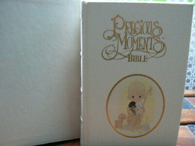 Precious Moments Edition HOLY BIBLE King James Version by Nelson 1985 Excellent
