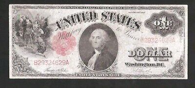 1917 $1 Legal Tender Note No Reserve Auction