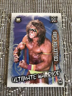 Topps WWE Slam Attax Live Collector Card CC6 Ultimate Warrior