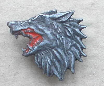 Yugoslavia/serbia Special Operations Police Unit Jso Wolf Lapel Badge (Replica)