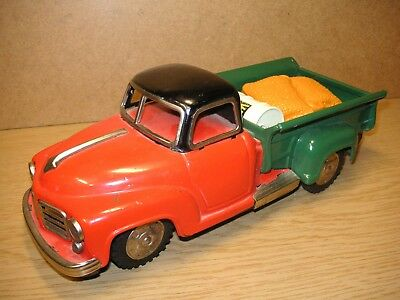 KS Kosuge Chevrolet Pickup Transporter Blech Japan 50er Tin Truck Car Tole Latta