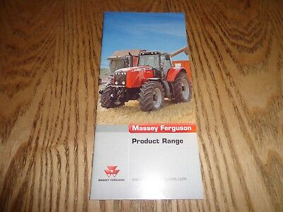 2004 Massey Ferguson Product Range Catalogue / Brochure