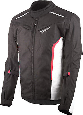 Fly Racing Baseline Jacket 2XL Black/White/Red #5958 477-2091~6