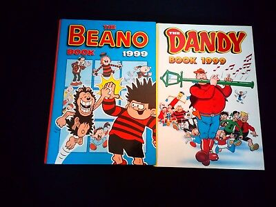 Beano/Dandy Annuals 1999 x 2 Vintage UK Comic Hardback