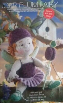 Alan Dart toy knitting Pattern from magazine ~ Sugar Plum Fairy (Nutcracker)