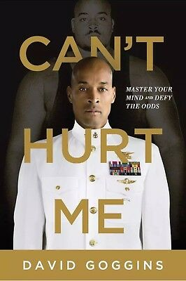 Can't Cant Hurt Me: Master Your Mind Defy the Odds -David Goggins-Paperback-NEW