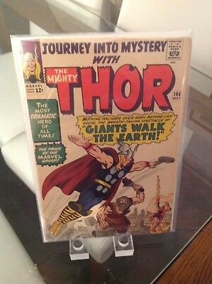 Uber Hot Journey Into Mystery 104 Vol 1 Key 1st Appearance Of Agnar The Fierce