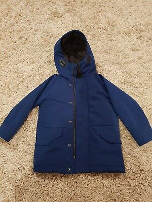 3e0db1ca6 BOYS NEXT NAVY blue padded winter coat with hood - age 4-5 years ...