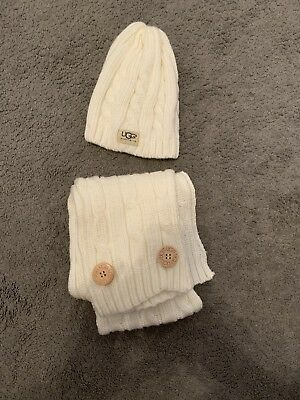 Ugg Scarf And Hat Set