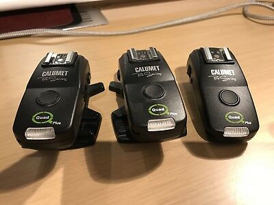 calumet flash transmitter and two receivers for Nikon