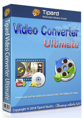 Tipard Video Converter Ultimate.9.2.50   Licenced   Instant Download  