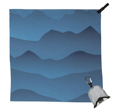 Packtowl - Nano Handtuch blue mountain Outdoor Reise Camping