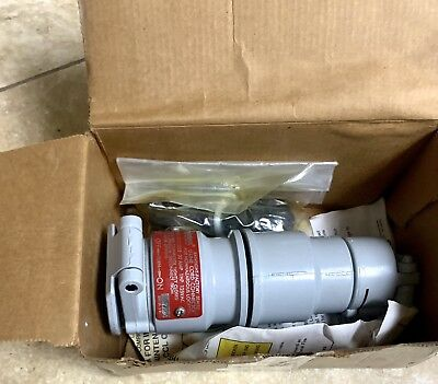 Appleton Eccl2023 20A Explosion Proof Plug New In Original Factory Box!!!