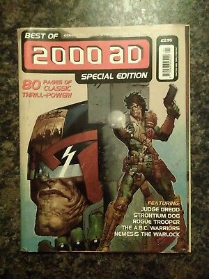 Best of 2000AD Special Edition, 1999 - good condition