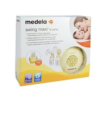 *BRAND NEW* Medala Swing Maxi Double Electric Breast Pump with Calma Boxed.