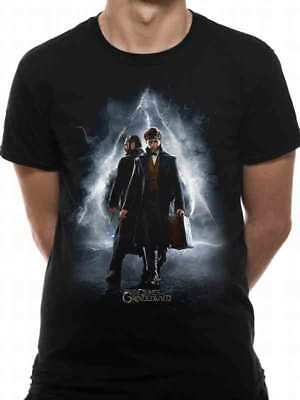 Official Fantastic Beasts Crimes of Grindelwald Strange Creatures Fitted T-Shirt