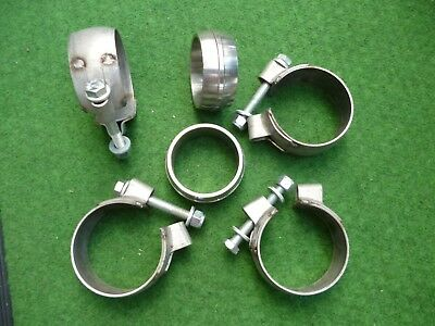 Porsche 911 993 Exhaust clamps