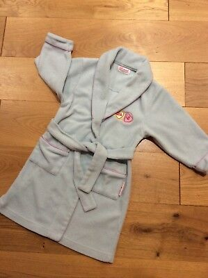 GIRL'S LOVE HEARTS DRESSING GOWN Age 3