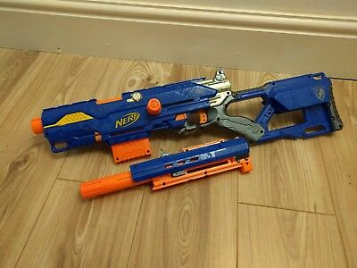 Nerf n-strike longstrike cs-6 with clips and bullets