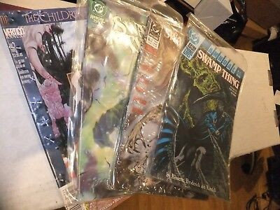 US DC comic Swamp thing annuals 4 Issue lot 4, 5, 6 and 7 1988 - 1993