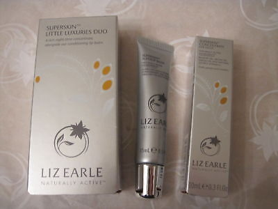 Liz Earle Superskin Little Luxuries Duo Superskin Concentrate and Superlip Balm