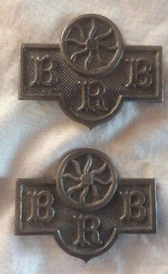 Vintage BRB Odd Fellows? Badges