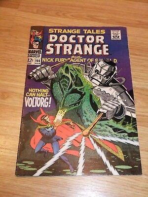 Marvel Comic Strange Tales 166 March 1968 Steranko