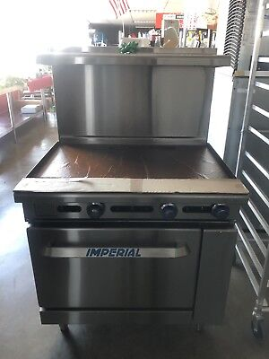 """Imperial Restaurant Range with 36"""" Thermostatic Griddle IR-G36T"""