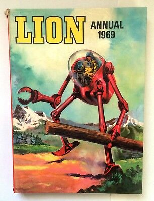 Lion Annual 1969 - Fleetway Publications Limited - Laminated Hardback