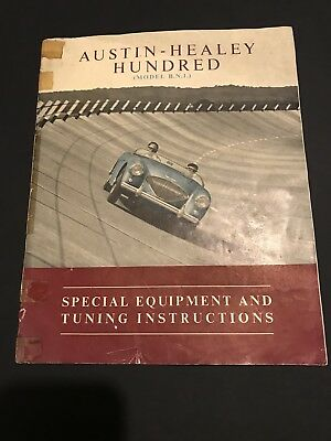 Vintage Austin-Healey Hundred - Special Equipment And Tuning Instructions