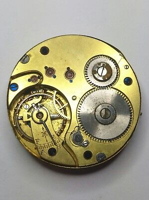 Nice Quality Antique Pocket Watch Movement For Spares or Repair
