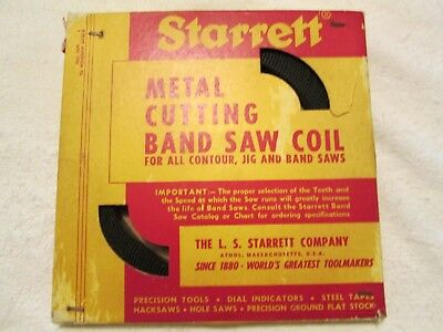 Starrett metal cutting band saw coil 100 ft. 6 teeth per inch.