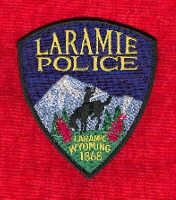 Law Enforcement Patch--City Of Laramie Wyoming Pd--New*