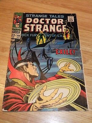 Marvel Comic Strange Tales 168 May 1968 Steranko